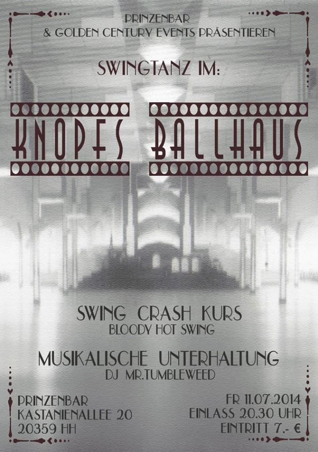 Crash Kurs, Live Musik & Tanz @ Knopfs Ballhaus